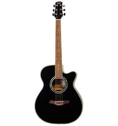 Flight F-230CEQ BLK elektro akustična gitara