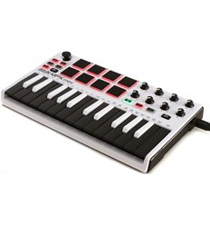 Akai MPK mini mkII White Limited Edition